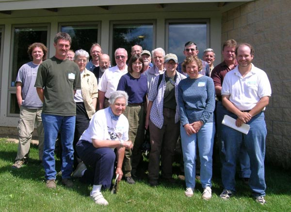 OMLA founders at Gorman Nature Center June 2004