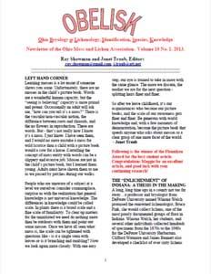 OBELISK volume 10 (2013)