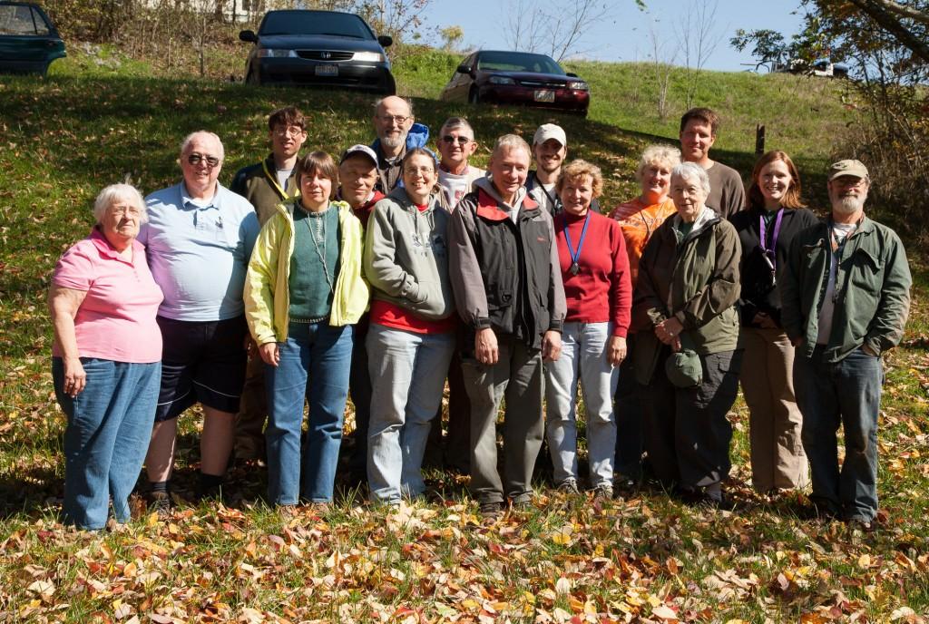 OMLA Fall Foray participants Monroe County.