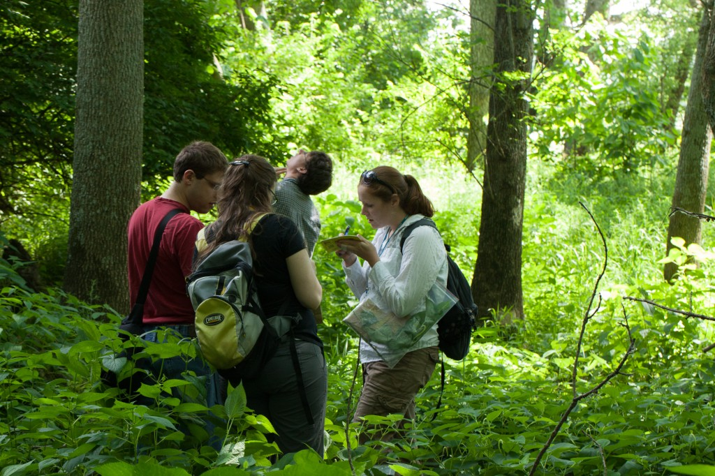 OMLA student members are interested in all things botanical.